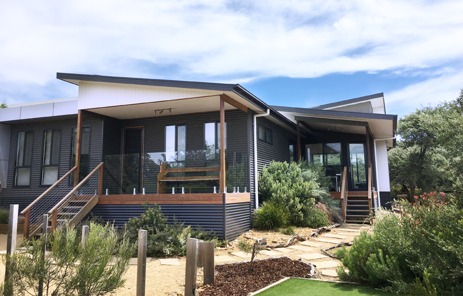Dune Haven Venus Bay holiday house exterior